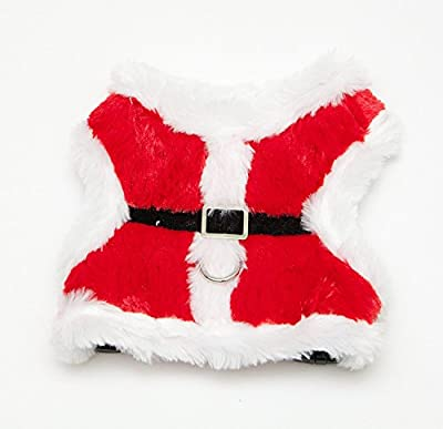 Jolly Santa Dog Harness by Midlee (Medium)