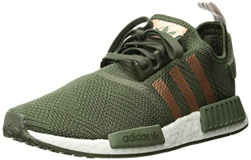 adidas Originals Women's NMD_R1, Green/Super Collegiate/ice Purple, 9 M US ()