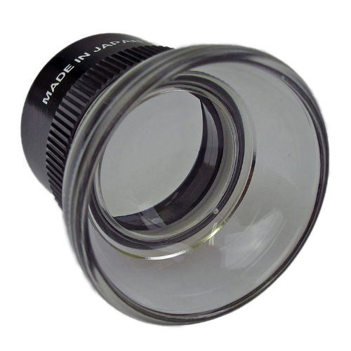 PEAK TS1962 Fixed Focus Loupe, 15X Magnification, 0.75'' Lens Diameter, 0.79'' Field View