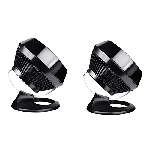 Vornado 660 Large 4 Speed Vortex Whole Room Air Circulator Floor Fan (2 Pack)