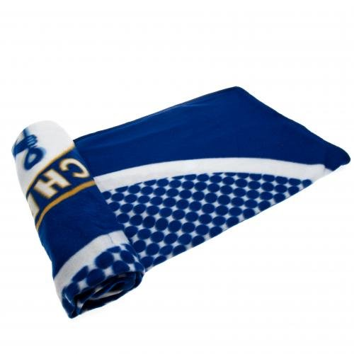 Official Chelsea FC Light Fleece Blanket BE (Chelsea Fc Fleece Blanket)