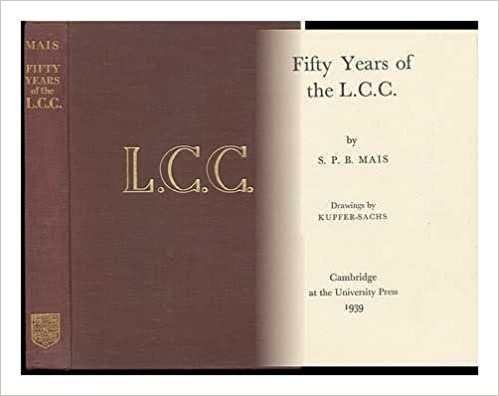 Fifty Years of the L.C.C.