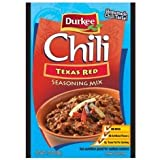 Durkee Texas Red Chili Season, 1.75oz (6pack)