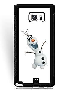 SkinMethods-Fundas Case Frozen for Samsung Galaxy Note 5 Scratch Resistant Fundas Caso para Galaxy Note 5 Movie