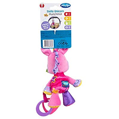 Playgro Baby Toy Stella Unicorn Munchimal 0186976 for baby infant toddler children is Encouraging Imagination with STEM/STEAM for a bright future - Great Start for A World of Learning : Baby
