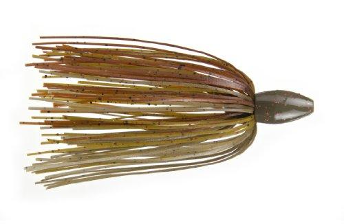 Strike King Tour Grade Tungsten Slither Rig Bait, Green Pumpkin Craw, - Rig Skirt