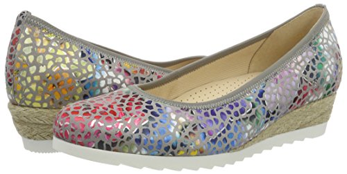 Donna Ballerine 62 641 24 Jute Grigio Gabor stone Shoes wqI4zUZn6