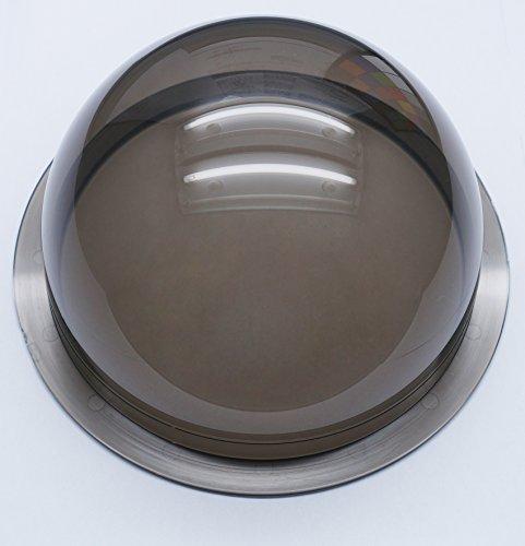 - JMX 6.2 Inch Acrylic Indoor / Outdoor Cctv Dark Brown Camera Dome Cover Security Camera Housing