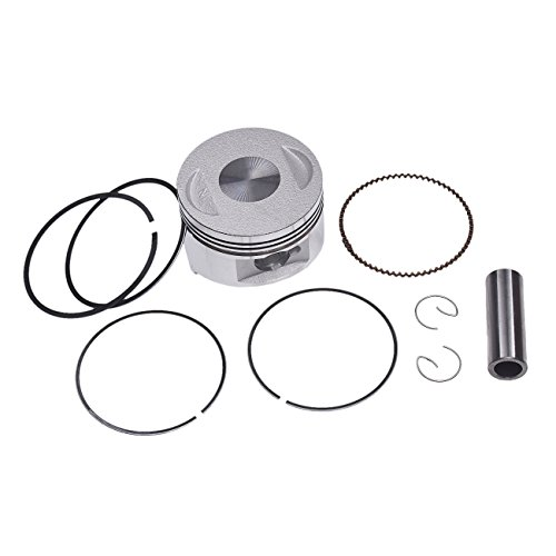 JRL GY6 150cc 57.4mm Piston Ring Assembly GY6 157QMJ ATV Go Kart Moped Scooter
