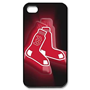 NEW Design MLB Boston Red Sox Case Cover for Iphone 4S/4