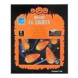 Halloween 80 Orange LED C6 Lights