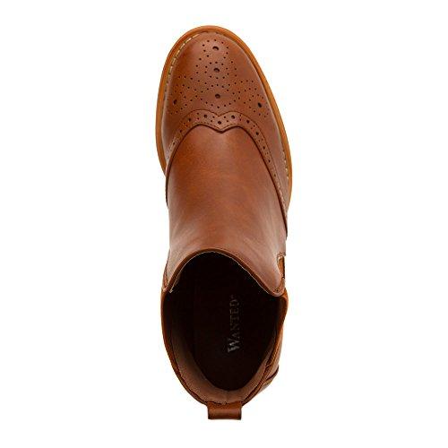 Women's Cognac Wanted Saba M boots Cognac 6 UY88rdq4