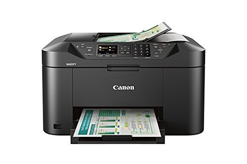 Canon Office Products MAXIFY MB2120 Wireless Color Photo Printer with Scanner, Copier and Fax (Certified Refurbished) by Canon