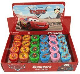(Disney Pixar Movie CARS Stampers Box: Stamp Art Set (24 pcs))