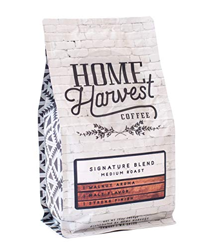 Home Harvest Coffee Signature Blend, 16 Ounce by Home Harvest