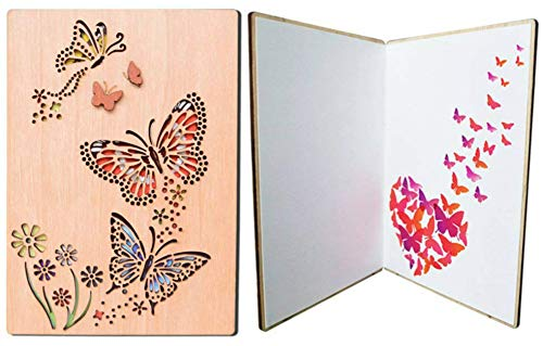Greeting Cards for All Occassion Valentines Gifts Greeting Card Butterfly Dance On The Air Design