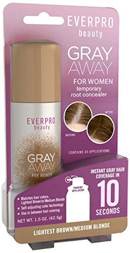 Gray Away Womens Hair Highlighting Product, Lightest Brown/Blond, 1.5 Ounce