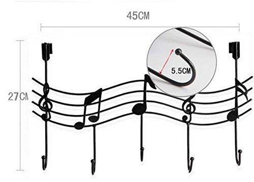 Music Note Style Metal Coat Hanger Wrought Iron Rack Robe Hooks,tripar plate hanger disney stocking hanger babies hangers costco hangers-color - Sunglasses Cheap Lesson