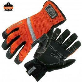 Ergodyne ProFlex 875 High Visibility Gauntlet Work Glove, Black, Large