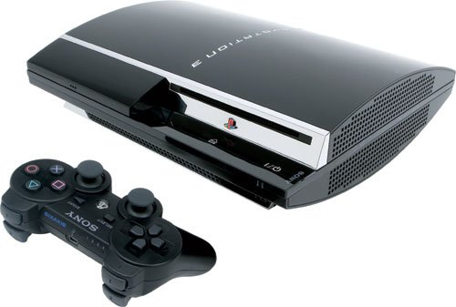 Sony Playstation 3 80GB Game System BluRay HDMI Console