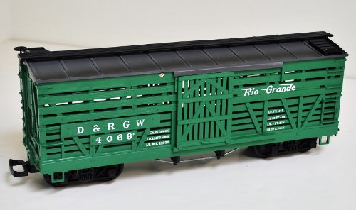 Lgb 4068, D&rgw, Denver & Rio Grande Western, Green Stock Car ()