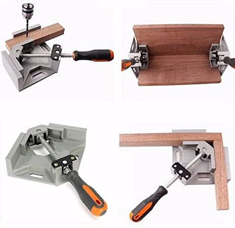 90 Degree Corner Right Angle Carbide Vice Clamps Woodworking Clip DIY Photo  Frame Aquarium Furniture Frame