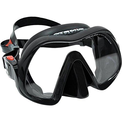 Atomic Aquatics Venom Frameless Mask Black