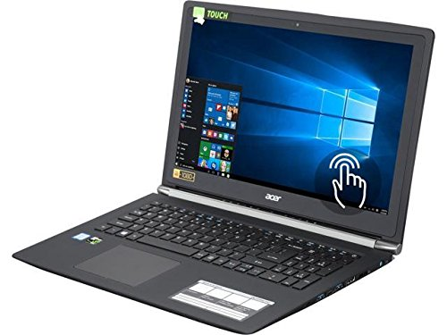 """Price comparison product image Acer Aspire V Nitro VN7 15.6"""" FHD Touchscreen Intel Core i7-6500U (2.50 GHz) NVIDIA GeForce GTX 950M 16 GB Memory 256 GB SSD 1 TB HDD Windows 10 Home 64-Bit Gaming Laptop"""