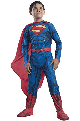 Rubies DC Universe Superman Costume, Child Small (Superman Costume For Sale)
