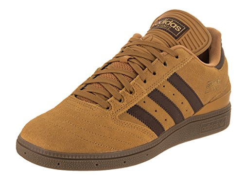 Fry Futurama Costume (adidas Originals Men's Busenitz Sneaker, Mesa/Brown/Gold Metallic, 12 M US)