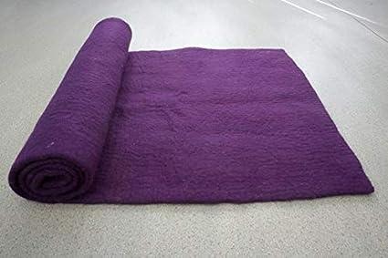 Amazon.com : woollyfelt Yoga Mat-Workout with Comfortable ...