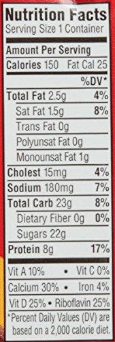 Horizon Organic, Lowfat Organic Milk Box With DHA Omega-3, Chocolate, 8  Fl. Oz (Pack of 18), Single Serve, Shelf Stable Organic Chocolate Flavored Lowfat Milk, Great for School Lunch Boxes, Snacks by Horizon Organic (Image #5)