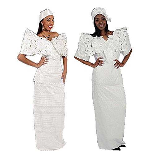 Butterfly Lace Skirt Set: White 12 by utopia africa