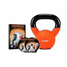 Kettlercise Just for Women VOL II, 2 DISC DVD set PLUS 4kg Kettlercise Kettlebell - Ultimate Fat Loss Package