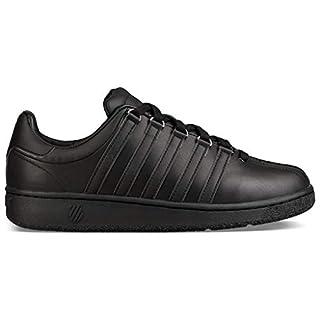 K-Swiss Women's Classic VN Fashion Sneaker, Black/Black, 11 M US