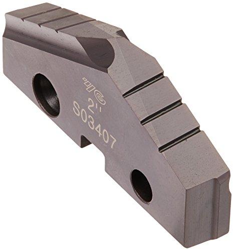 7//16 Thickness 2-5//8 Insert Hardslick Finish YG-1 S09507 Super Cobalt T15 Spade Drill Insert
