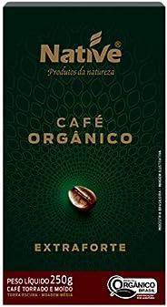Café Orgânico Torrado e Moído Extraforte Native 250g