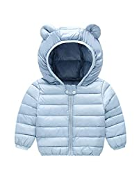 Baby Down Jacket Winter Hooded Coat Puffer Jacket Lightweight Outerwear Outfits