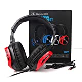 SADES R17 Gaming Headset for PS4 Controller,Xbox