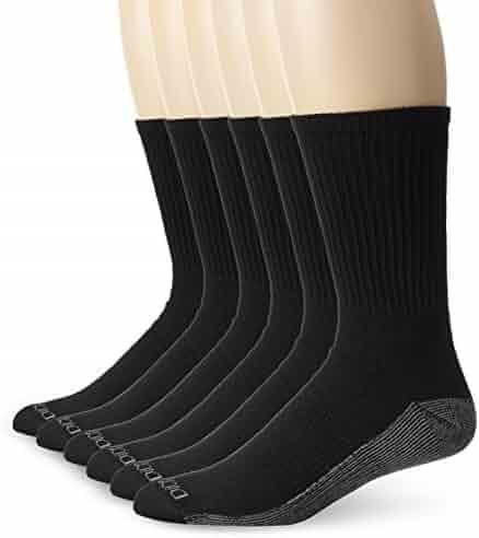 Dickies 6-Pair Dri-Tech Moisture Control Crew Socks