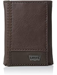 Men's Trifold Wallet - Sleek and Slim Includes ID Window...