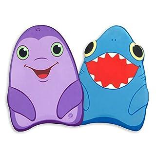 Melissa & Doug Kickboard Bundle - Dolphin and Shark