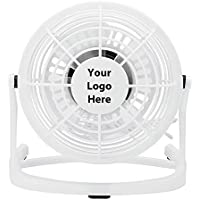 USB Desk Fan - 100 Quantity - $6.90 Each - PROMOTIONAL PRODUCT / BULK / BRANDED with YOUR LOGO / CUSTOMIZED