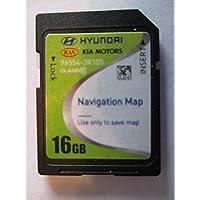 3R105 2014 2016 KIA CADENZA Navigation MAP Sd Card ,GPS UPDATE , U.S.A OEM PART # 96554-3R105 16GB 4.X USA OEM PART