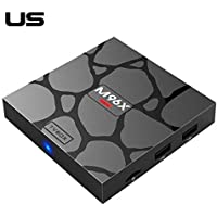 Alian Smart Android TV Box, M96X Mini Set Top Box Amlogic S905X 2G+16G Network Player TV Box Media Player with Remote Control