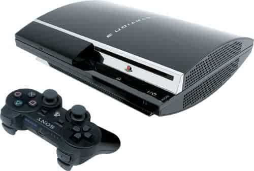 Sony Playstation 3 80GB Game System BluRay HDMI Console