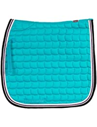 "<span class=""a-offscreen"">[Sponsored]</span>Lexington Coolmax Quick Dry Lining Dressage Saddle Pad Navy Blazer Cob"