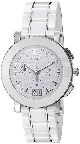 Fendi Stainless Steel Bracelet - Fendi Women's F662140 Ceramic Stainless Steel and Ceramic Bracelet Watch