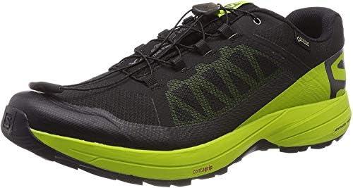 トレイルランニングシューズ XA Elevate Gore-TEX (エックスエー エレベート ゴアテックス) メンズ Black/Lime Green/Black 26.0cm