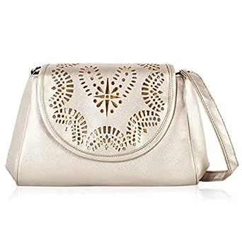 Voaka Sling Bag For Women Gold